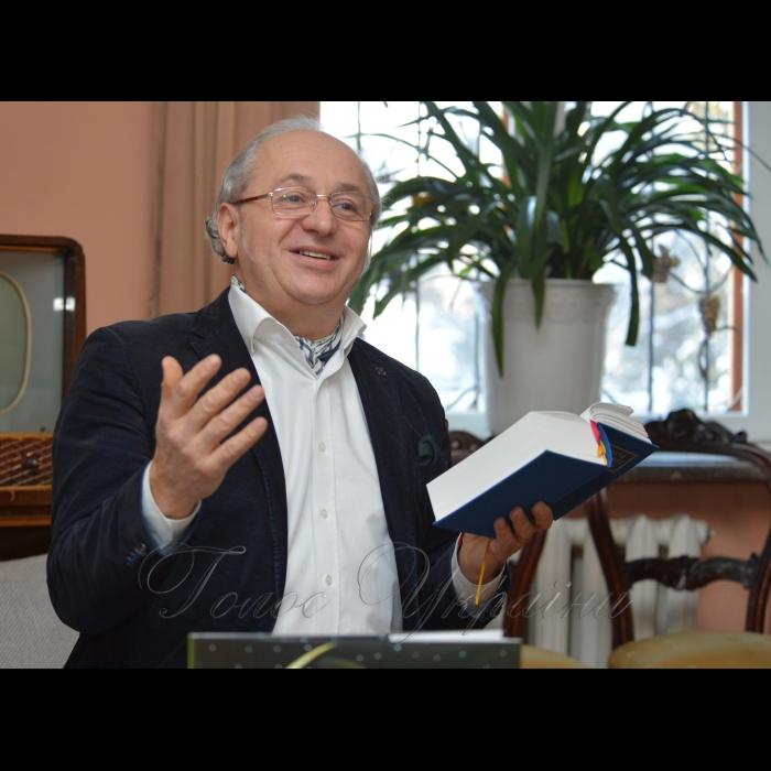 24 січня 2019 у музеї Максима Рильського відбулася презентація книги Івана Малковича - переклад гоголівської «Ночі перед Різдвом». Іван Малкович.