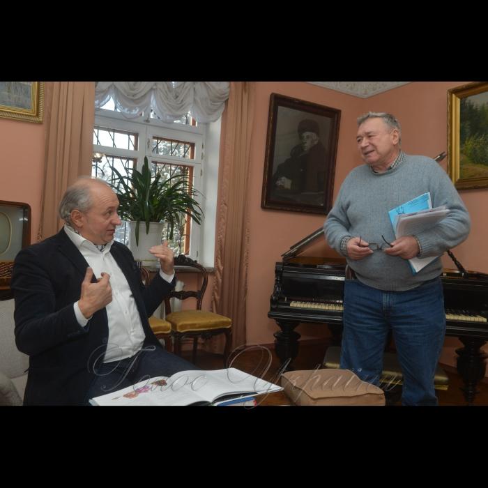 24 січня 2019 у музеї Максима Рильського відбулася презентація книги Івана Малковича - переклад гоголівської «Ночі перед Різдвом». Іван Малкович та Максим Рильський.