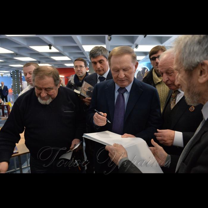 28 січня 2019 вшанування пам'яті першого космонавта України Леоніда Каденюка. Другий президент України Леонід Кучма.