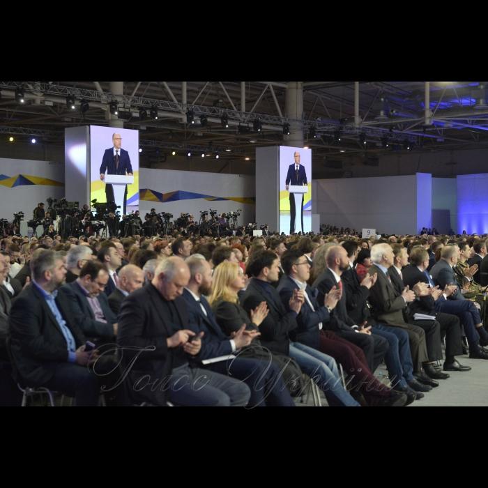 29 января 2019 Председатель Верховной Рады Украины Андрей Парубий, Президент Украины Петр Порошенко приняли участие в Форуме «От Крут до Брюсселя. Мы идем своим путем».
