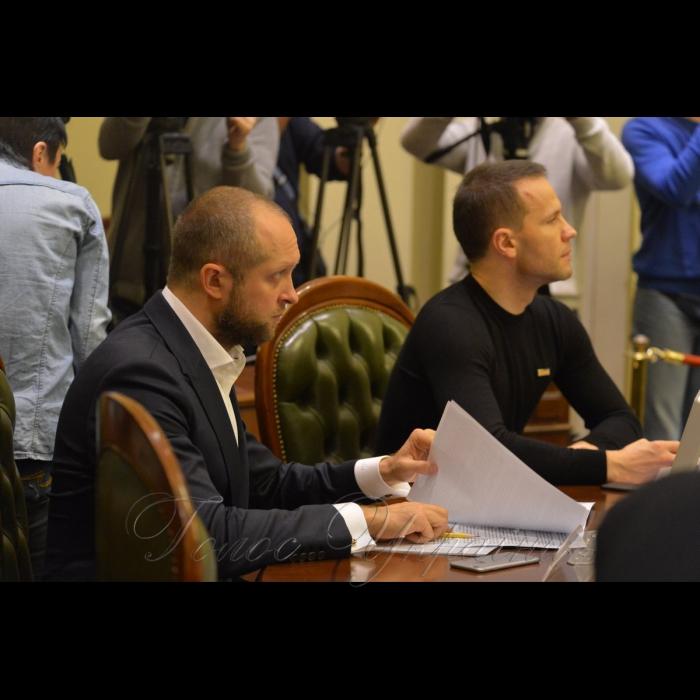 4 лютого 2019 погоджувальна Ради у Верховній Раді України.