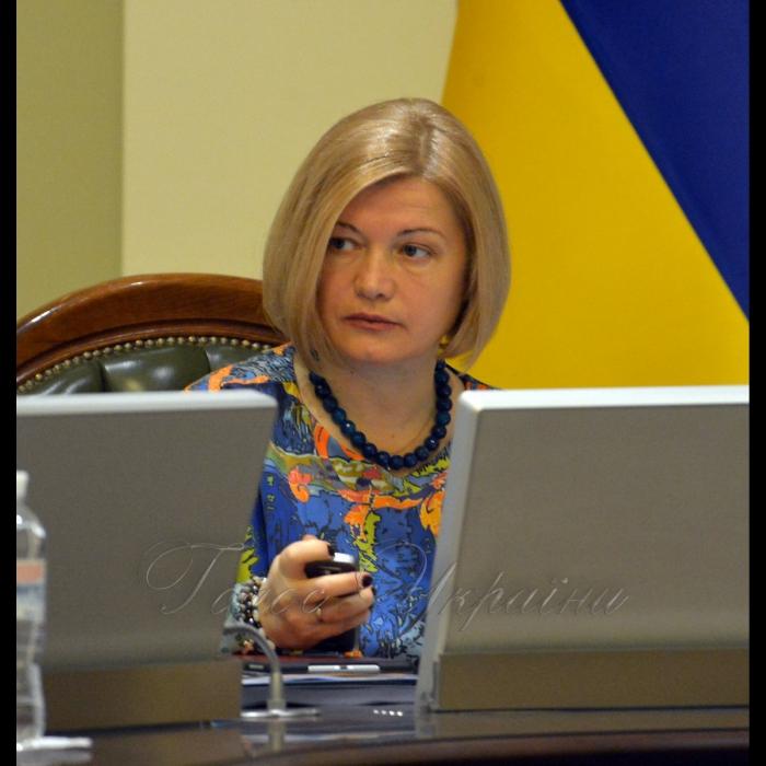 4 лютого 2019 погоджувальна Ради у Верховній Раді України. Ірина Геращенко.