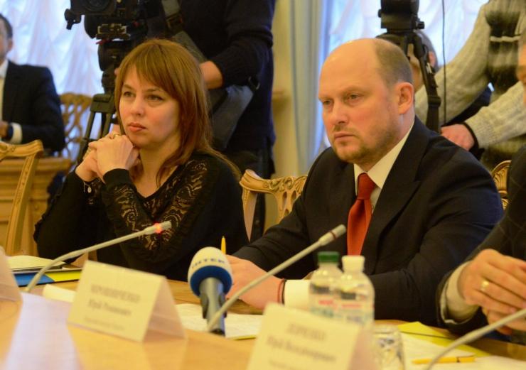 Зустріч з представниками місії Європейської конфедерації профспілок