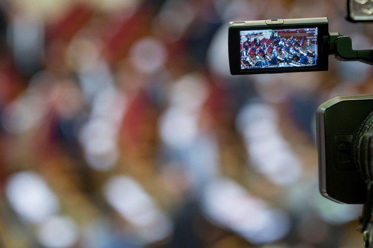 28 лютого 2019 пленарне засідання Верховної Ради України. Вечірне засідання. Верховна Рада розпочала розгляд у другому читанні проекту закону «Про забезпечення функціонування української мови як державної» (№5670-Д).