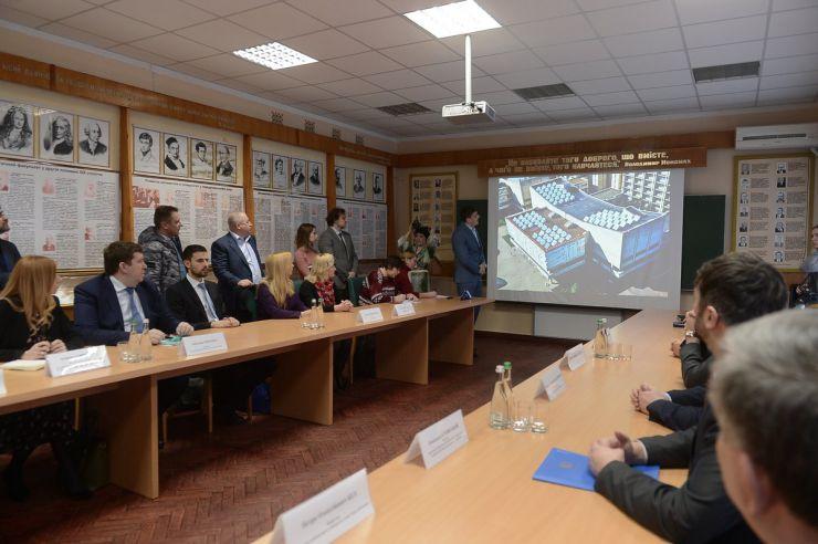 5 березня 2019 презентація першого проекту у Київському національному університеті ім. Т.Шевченка з реалізації термомодернізації навчальних закладів за рахунок зелених інвестицій у рамках Кіотського протоколу коштом Іспанії.