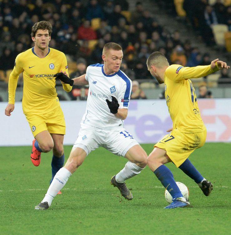 14 березня 2019 Київ, НСК Олімпійський, Ліга Європи УЄФА 1-8 фінала. Динамо-Челсі 0-5.