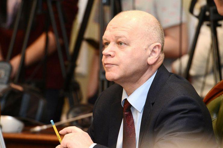18 березня 2019 засідання погоджувальної ради у Верховній Раді України. Михайло Довбенко (БП).