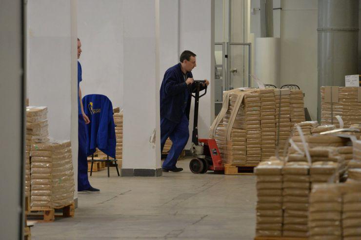 21 березня 2019 демонстрація процесу друкування виборчих бюлетенів для голосування в день чергових виборів президента України 31 березня 2019 року на Державному підприємстві «Поліграфічний комбінат «Україна».