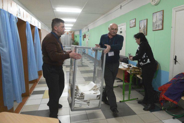 Вибори Президента України. Підрахунок голосів ДВК