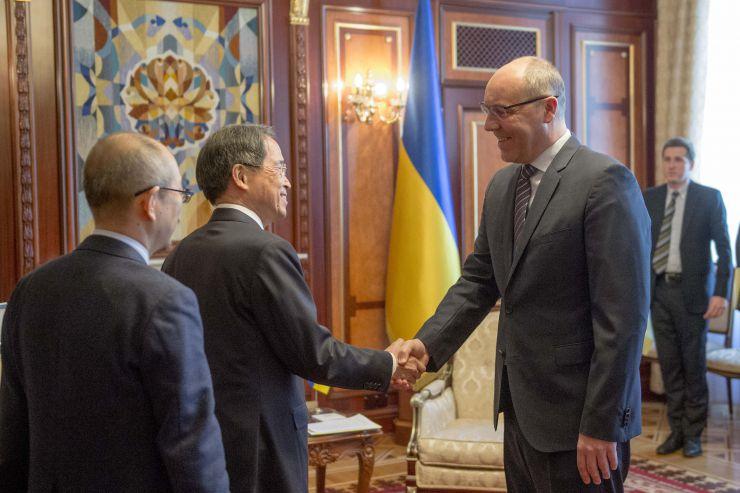 Голова Верховної Ради України Андрій Парубій зустрівся з новопризначеним Надзвичайним і Повноважним Послом Японії в Україні Такаші Кураі