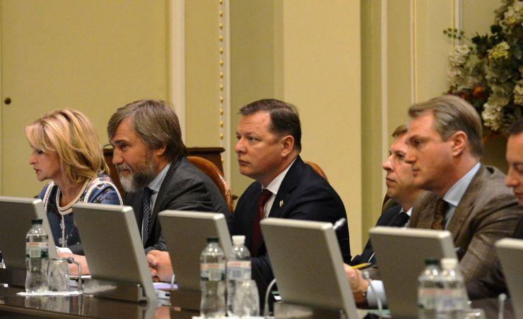 13 травня 2019 засідання Погоджувальної ради у Верховній Раді України.