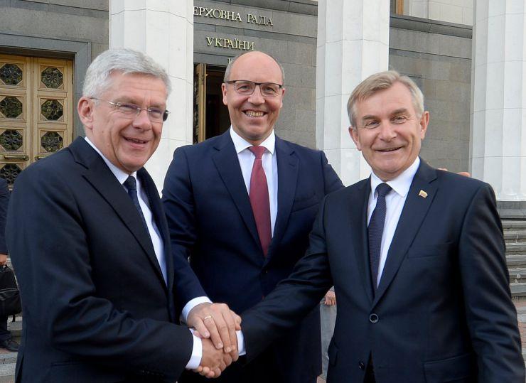 7 червня 2019 відкриття Десятої сесії Міжпарламентської асамблеї Верховної Ради України, Сейму Литовської Республіки та Сейму і Сенату Республіки Польща.