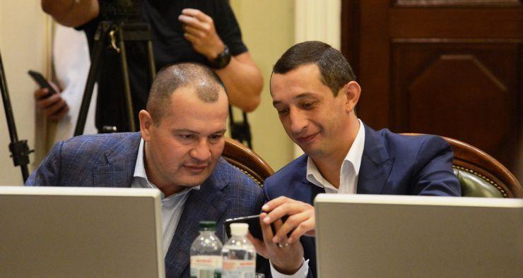 1 липня 2019 погоджувальна Рада у ВР. Артур Палатний БП, Андрій Немировський БП.