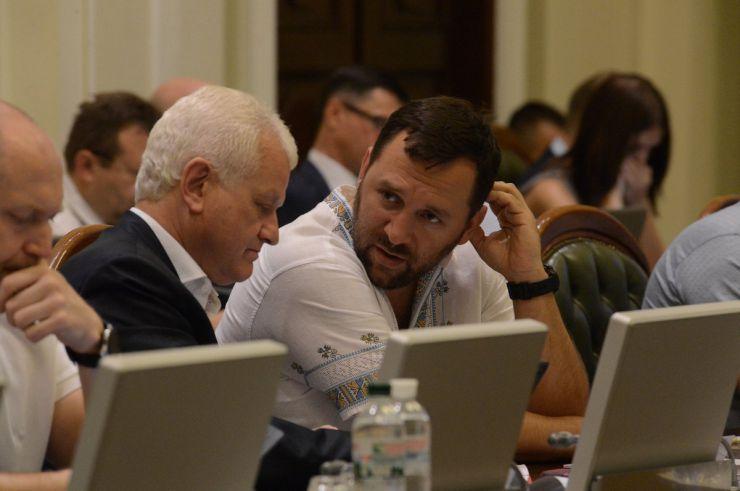 1 липня 2019 погоджувальна Рада у ВР. Олександр Співаковський БП, Віктор Кривенко.