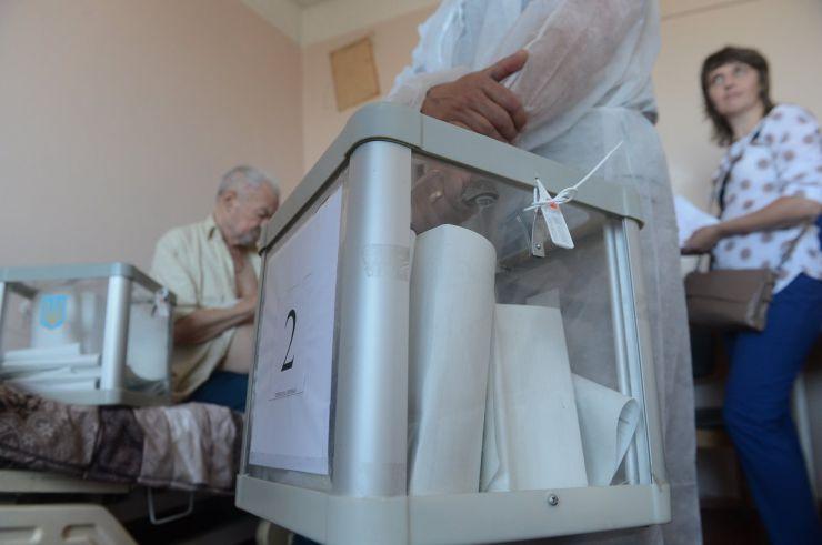 21 липня 2019 позачергові парламентські выбори. Київська міська клінічна лікарня №1, 212 виборчий округ.
