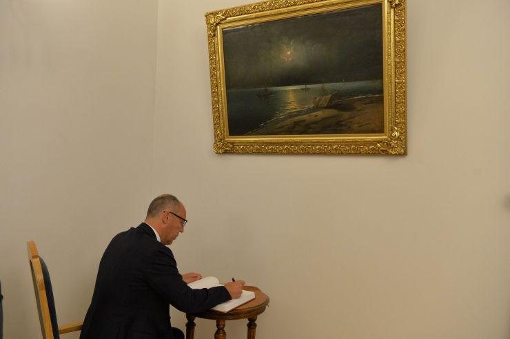 Голова Верховної Ради України Андрій Парубій здійснює візит до Литовської Республіки. Зустріч з Куртом Волкером