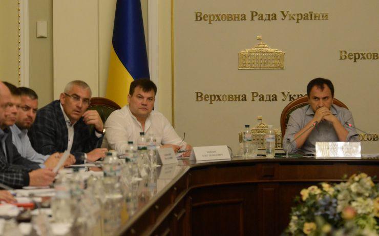 4 вересня 2019 засідання Комітету Верховної Ради України з питань аграрної та земельної політики.