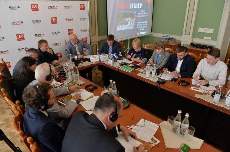 5 сентября 2019 круглый стол на тему: Минский пат. 5 лет спасения Украины и потери Донбасса.