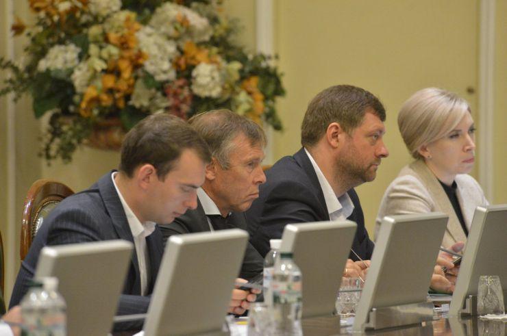 Погоджувальна рада Ярослав Железняк, Сергій Соболєв, Олександр Корнієнко, Ірина Верещук
