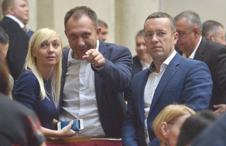 Пленарное заседание Верховной Рады Украины.