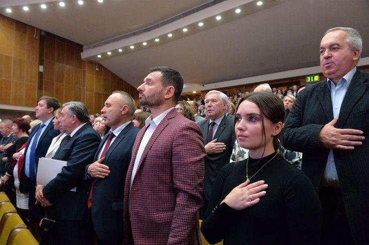 Відзначення 185-річчя Київського Національного університету ім Шевченка