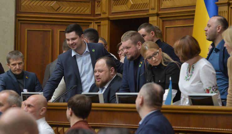 Пленарное заседание Верховной Рады Украины. Верховная Рада начала рассмотрение во втором чтении законопроекта №2178-10