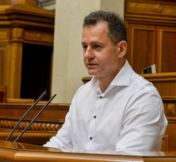 Ранкове пленарне засідання Верховної Ради України. Батенко