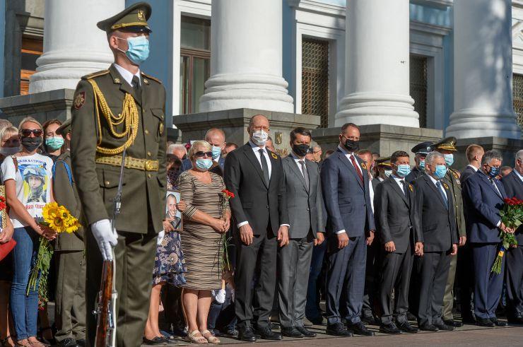 Голова Верховної Ради України вшанував пам'ять загиблих захисників України