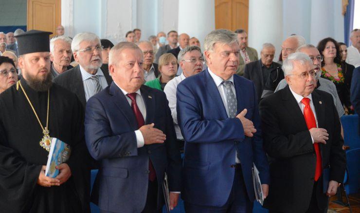 Торжественное собрание по случаю 30-й годовщины со времени создания Национального союза писателей Украины