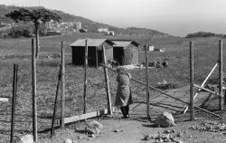Крим. Гора Самота в районі селища Кореїз. Тут на занедбаному полі кримські татари, які повернулися з депортації в Узбекистані, почали будувати своє селище.