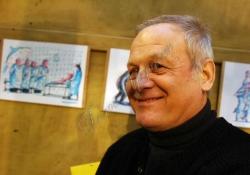 У столичній арт-галереї  «Мінус 4»  відкрилась виставка flomaster`s day: кольоровий слід, довжиною  в 50 років.