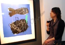 У столичній галереї «Боттега» відкрилася виставка графіки «Камінь, ножиці, папір: твори з колекції Британської Ради».