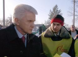 Голова Верховної Ради України Володимир Литвин відвідав з робочою поїздкою Донецьку область.