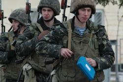 Виїзд представників ЗМІ до розташування 95-ї окремої аеромобільної бригади армійського корпусу (м. Житомир).