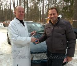 Заступник Голови Верховної Ради України Микола Томенко передав ключі від автомобіля, придбаного власним коштом, для потреб лікарні.