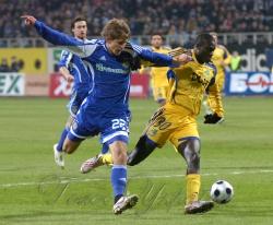Матч 1/8 фіналу Кубка УЄФА між київським «Динамо» та харківським «Металістом» рахунок 1:0.