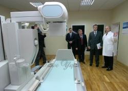 У поліклініці СБУ презентовано рентгенологічну установку, аналогів якої не має в Україні.