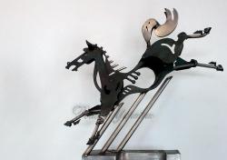 Виставка скульптур Володимира Іванова «Дари Посейдона» у галереї «Коло Заспи».