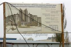 Київ, будівництво по проспекту Глушкова, 6 (на території Київського національного університету).