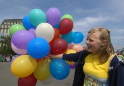 Київ. Міжнародна асоціація «Друзі дітей» провела щорічну акцію «Абракадабра».