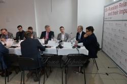 Експертний круглий стіл на тему «Американсько-російські відносини та їх вплив на Україну»