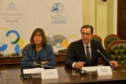 У Верховній Раді України триває  робота VI сесії Парламентської асамблеї ЄС – Східні сусіди (ПА ЄВРОНЕСТ). Прес-конференція Ребекки Хармс та Мар'яна Лупу