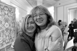 У Верховній Раді відбувся показ фільму «Війна химер» режисерів Анастасії та Марії Старожицької. Мама й донька розповіли про війну, кохання і смерть.
