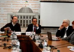 У Комітеті ВРУ з питань запобігання та протидії корупції відбулася презентація членами Міжнародної Антикорупційної Консультативної Ради експертного висновку щодо аналізу антикорупційних зусиль України.