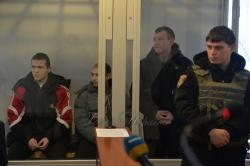 У Новому Айдарі Луганської області відбувається суд над російськими найманцями Венгером, Гладковим та Агеєвим.