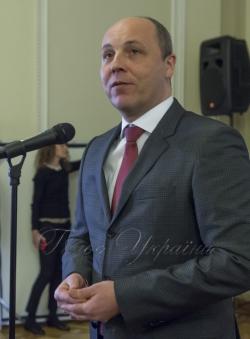 Голова Верховної Ради України Андрій Парубій відкрив показ фільму «Кіборги» у Парламенті.