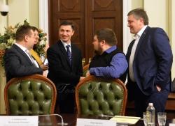 Голова Верховної Ради України Андрій Парубій взяв участь в урочистій церемонії відкриття Програми стажування в Апараті Верховної Ради України у 2018 році.