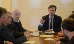 Засідання комітету на якому було розглянуто зокрема Проект Закону України про франчайзинг.
