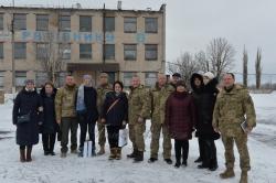 Поїздка в зону АТО разом з першим заступником Голови ВРУ Іриною Геращенко.