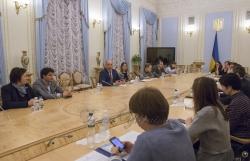 Голова Верховної Ради України Андрій Парубій провів зустріч з громадськими експертами щодо пріоритетів порядку денного на восьму сесію Верховної Ради восьмого скликання.